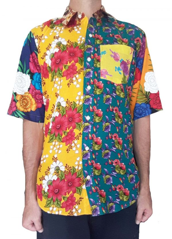 Bent Banani - Unique Floral Shirts Made Of Up To 13 Different 100% Cotton Floral Fabrics