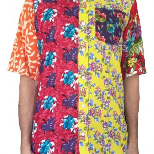 Bent Banani - Unique Floral Shirt | Short Sleeve | Made Of 9 Different Floral Fabrics | 100% Cotton