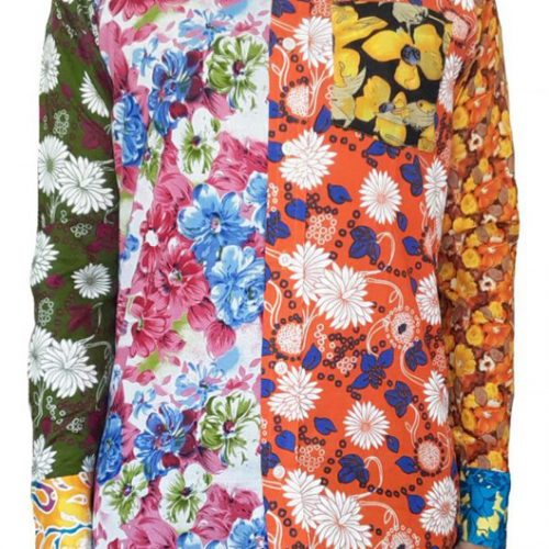 Bent Banani - Unique Floral Shirt | Long Sleeve | Made Of 13 Different Floral Fabrics | 100% Cotton